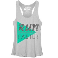 CHIN UP Women's - Run Faster T-Shirt