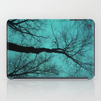 Trees Are Poems II (Tree Silhouettes) iPad Case by Soaring Anchor Designs