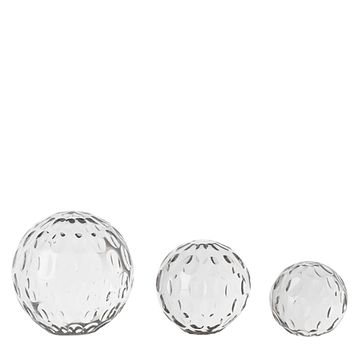Glass Paper Weight (set of 3) | Eichholtz Croydon