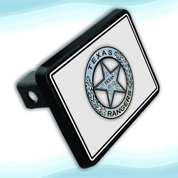 Texas Ranger Badge Hitch Plate for 2'' Receiver