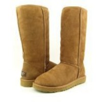 UGG Australia Womens Classic Tall Boot Chestnut 8 M US