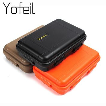 Portable Shockproof Outdoor Airtight Sponge Storage Case Survival Tool Container Anti Pressure Carry Plastic Waterproof Box