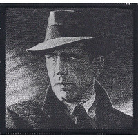Humphrey Bogart Men's Woven Patch Black