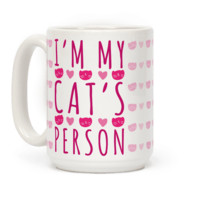 I'M MY CAT'S PERSON