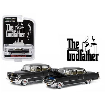 1955 Cadillac Fleetwood Series 60 Special The Godfather 1:64 Diecast Car