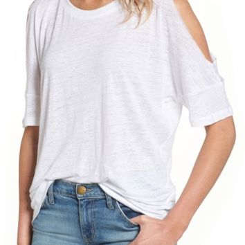 Rails Ricki Cold Shoulder Tee | Nordstrom