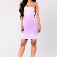 Electric Dress - Lavender/Pink