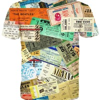 Concert Ticket T-Shirt