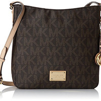Michael Kors Jet Set Travel Large Messenger Vanilla