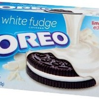 Nabisco, Oreo, White Fudge Covered, Limited Edition, 8.5oz Box (Pack of 4)