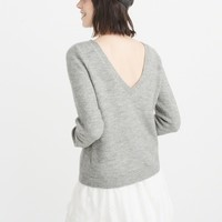 Womens V-Back Sweater | Womens Clearance | Abercrombie.com