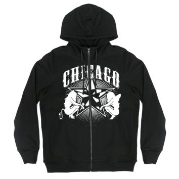 The Alley Chicago 5 Point Star Hoodie