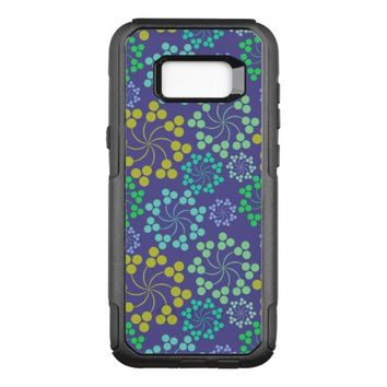 Floral Abstract Design OtterBox Commuter Samsung Galaxy S8+ Case