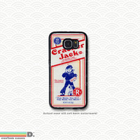 Cracker Jacks, Custom Phone Case for Galaxy S4, S5, S6, Two Variations
