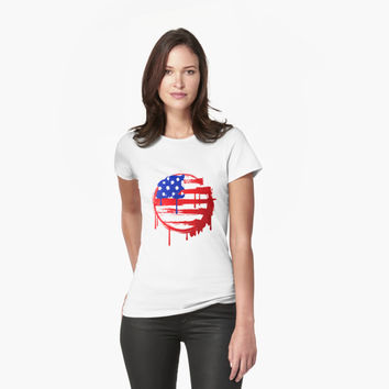 'america' T-Shirt by ZetaQuin