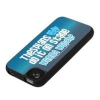 Thespians Do It On Stage iPhone 4 Covers from Zazzle.com