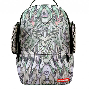 "Origami Money Wings Backpack ""SPRAYGROUND"""