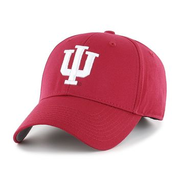 Indiana Hoosiers All Season Velcro Adjustable Hat