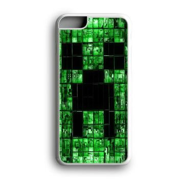Black Friday Offer Green Minecraft Creeper iPhone Case & Samsung Case