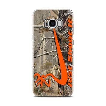 Nike Browning Just Shoot It Samsung Galaxy S8 | Galaxy S8 Plus Case
