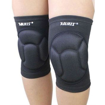 ICIKUH3 Mens Thickening Football Volleyball Extreme Sports knee pads brace support Protect Cycling Knee Protector Kneepad ginocchiere