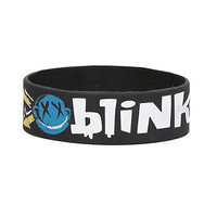 Blink-182 Smiley Rubber Bracelet | Hot Topic