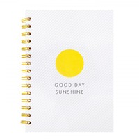 A5 HARD COVER NOTEBOOK: HELLO YELLOW