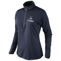 UConn Huskies Nike Women's Platinum Element Top - Navy Blue