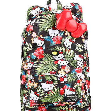 Loungefly Hello Kitty Hawaiian Print Backpack