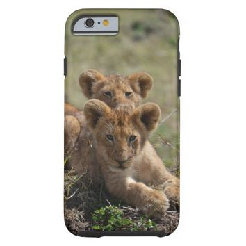 Wild African Lion Cubs iPhone 6 case