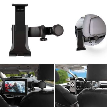 Universal Car Back Seat Headrest Mount Holder For iPad Mini Air Galaxy Tablet.