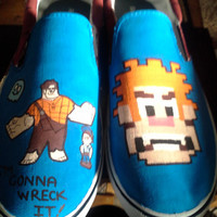 Wreck It Ralph Shoes