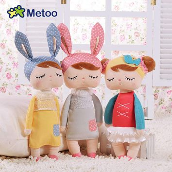 Plush Stuffed Animals Cartoon Kids Toys Angela Dolls Bunny Rabbit Girl for Birthday Christmas Children Gifts