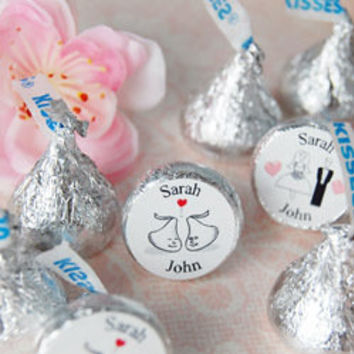 Personalized Hershey's Chocolate Wedding Favors