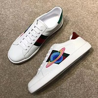 Gucci Casual And Casual White Shoes Various Styles-4