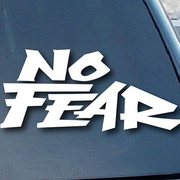 No Fear Logo Vinyl Sticker Decal Car Truck Windon Wall Laptop notebook