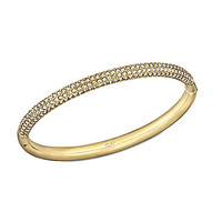 Swarovski Stone Mini Bangle - Gold