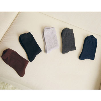 Dad's 'Sock Drawer' Starter Kit Crew Set [5 Socks.]