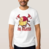 Fire Fighter Tribute T Shirt