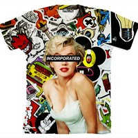 ☮♡ Marilyn Collage Shirt ✞☆