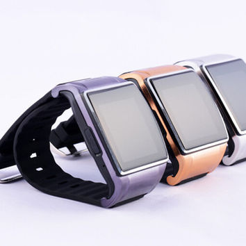 Free DHL Smart Watch L18 WristWatch SmartWatch GSM Bluetooth Support photograph FM TF Card for Android phone and iPhone Smart Phone