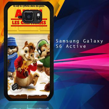Alvin And The Chipmunks Y0710 Samsung Galaxy S6 Active  Case