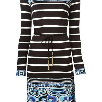 VONEG8Q Emilio Pucci patterned shift dress