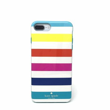 Kate Spade New York 'Candy Stripe' Protective Case for iPhone 7 Plus & iPhone 6 Plus