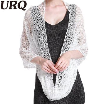 Women's Stylish Lace Infinity Shawl Stole Tube Scarf