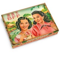 BFF Tin Pocket Box - Replica of a 1920's Cigarette Case