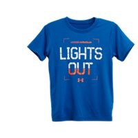 Under Armour Boys' Infant UA Lights Out Glo T-Shirt