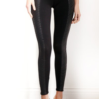 Tractr Ponti Vegan Leather Pants