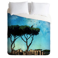 Belle13 The Cat King Of Rome Duvet Cover