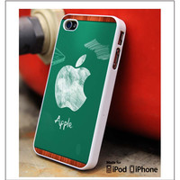 Apple Logo Back To School iPhone 4s iPhone 5 iPhone 5s iPhone 6 case, Galaxy S3 Galaxy S4 Galaxy S5 Note 3 Note 4 case, iPod 4 5 Case